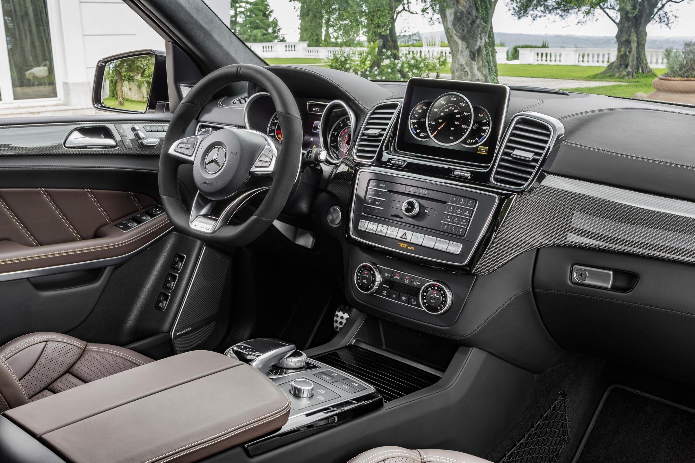 Inside the Mercedes-Benz GLS