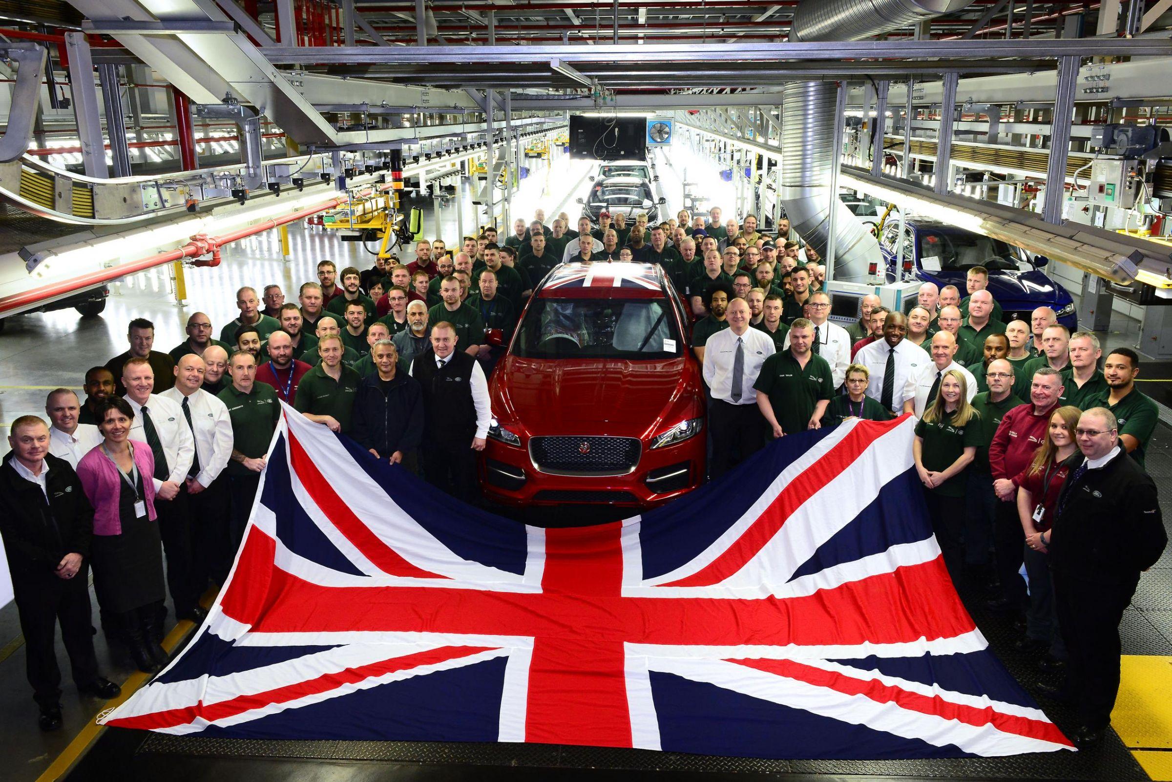 Jaguar Land Rover Retains Position As Britain's #1 Automotive Manufacturer