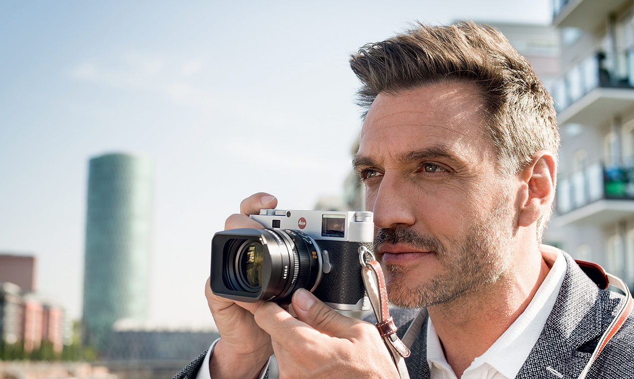 The Ultra-Slim 24 MP Leica M10 Digital M Rangefinder Camera