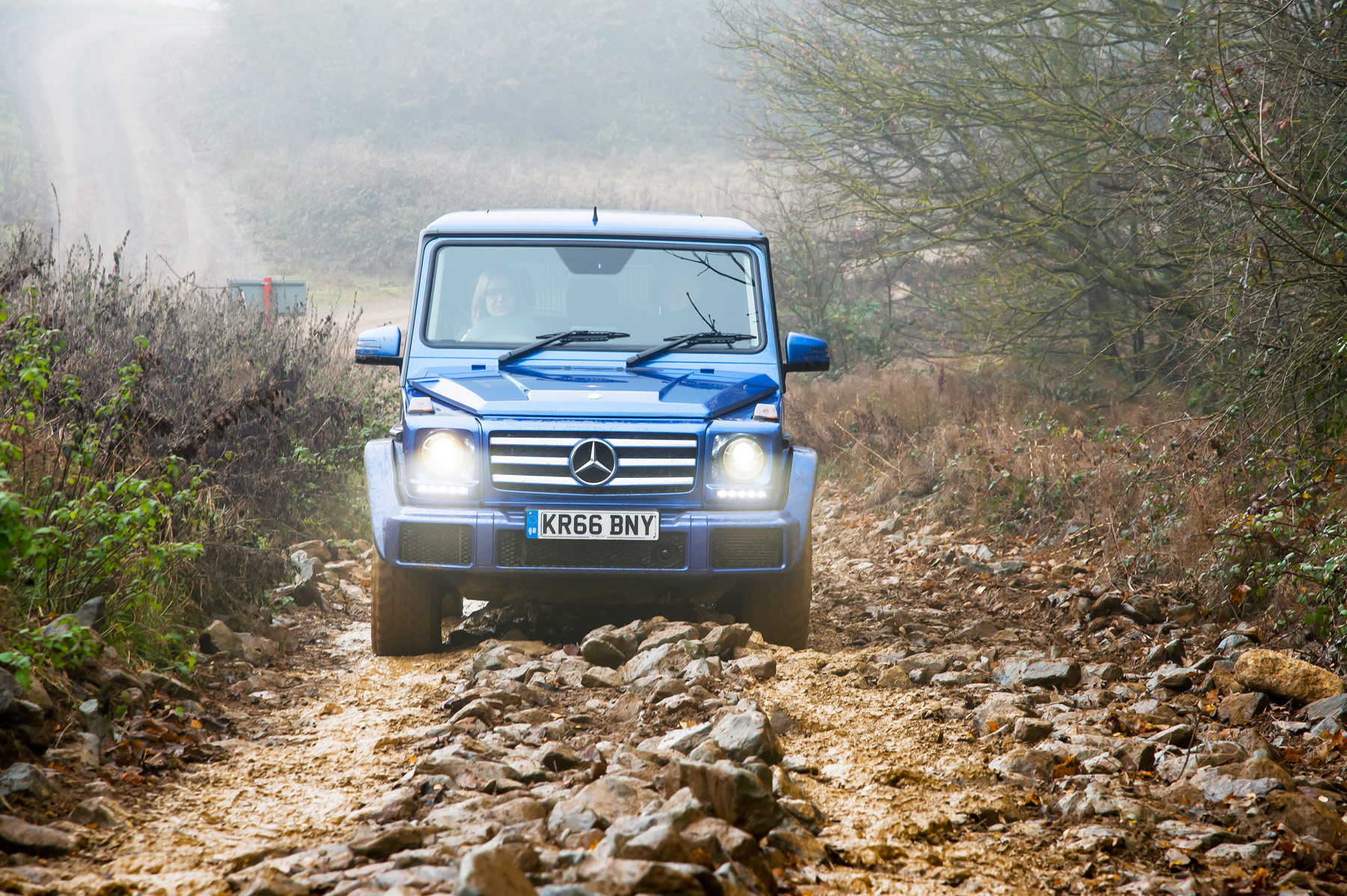 Mercedes-Benz SUV G Class Off-Road Test At Millbrook Proving Ground 4