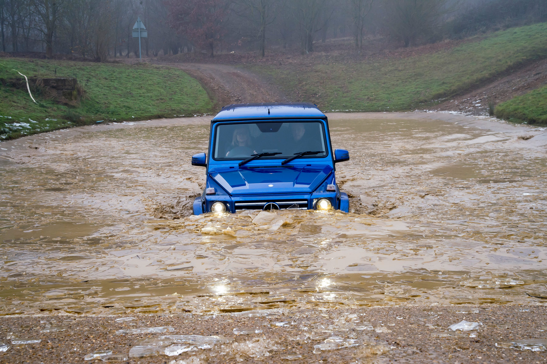 Mercedes-Benz SUV G Class Off-Road Test At Millbrook Proving Ground 2
