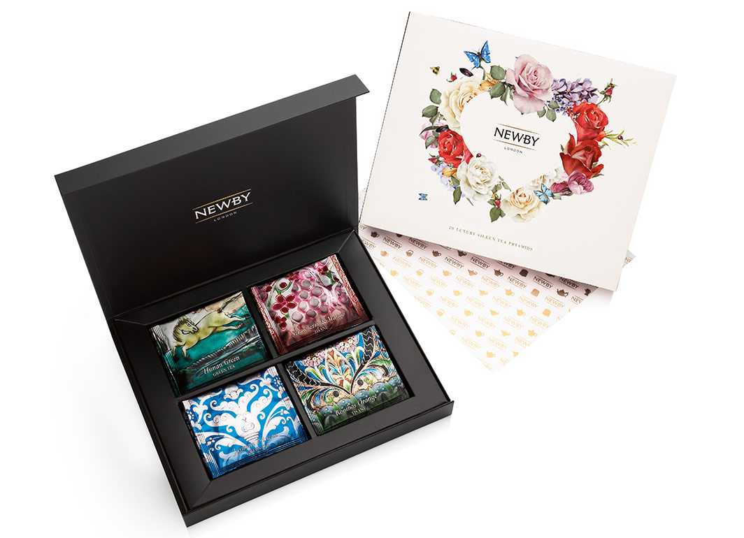 Newby Teas, the luxury tea company, has launched a redesigned From the Heart gift box for Valentine's Day 2017