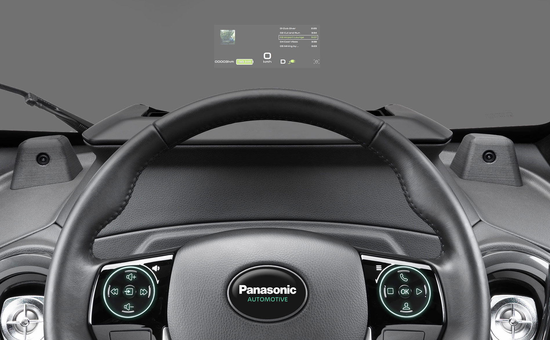 Panasonic Debuts HUD To Replace A Cars Existing Instrument Cluster