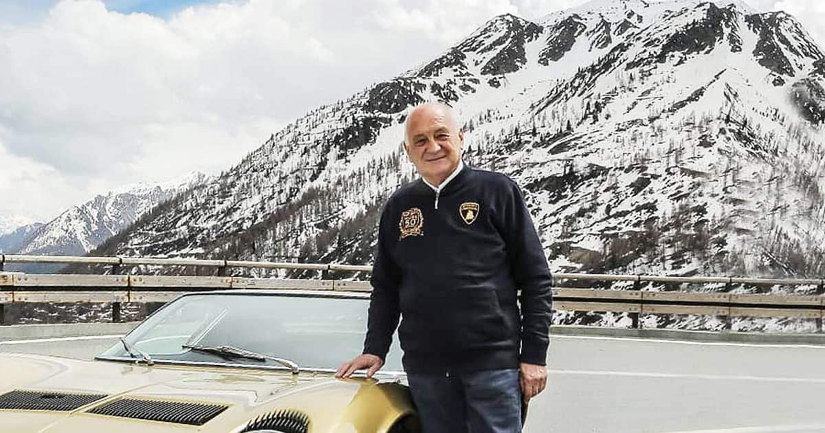 Farewell To Paolo Stanzani, The Genius Behind The Miura & Countach