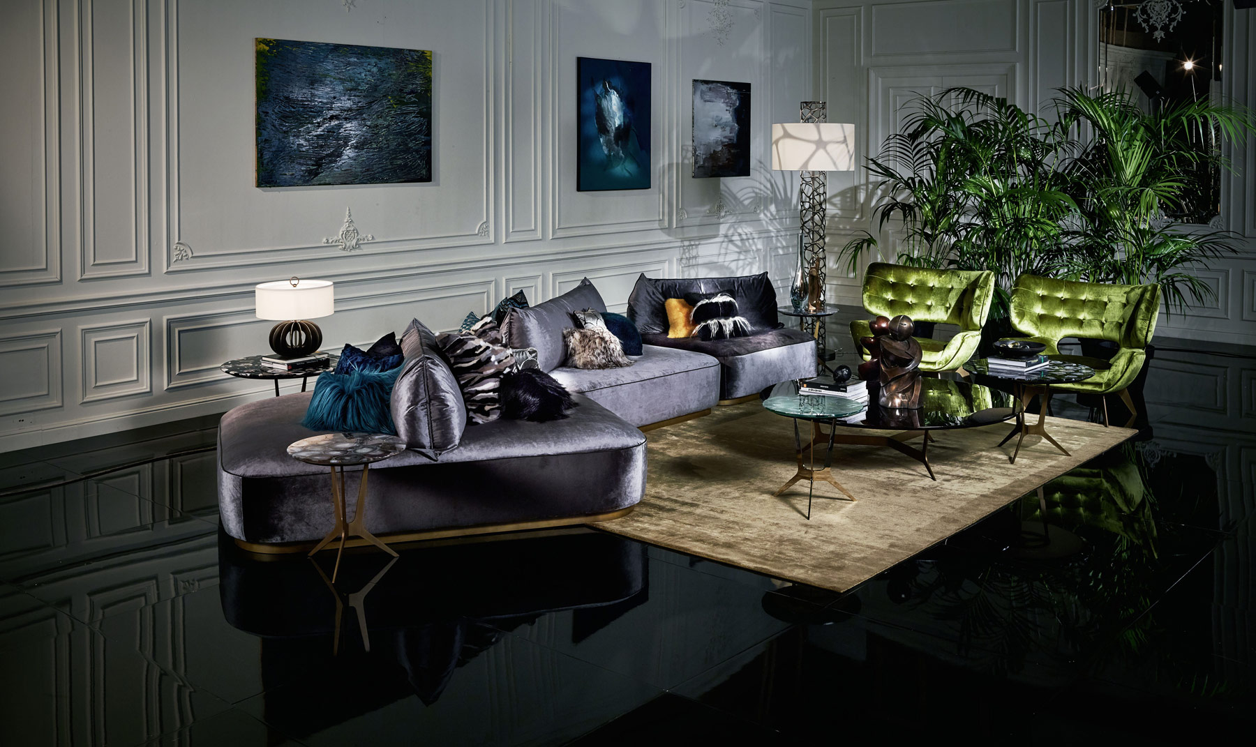 The New Roberto Cavalli Home Interiors Collection For 2017