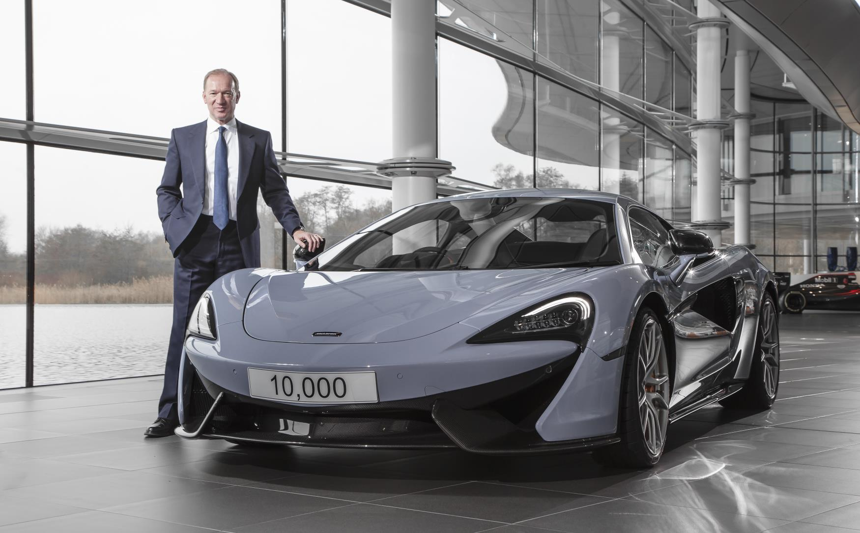 McLaren Automotive Sales Almost Double Over Previous Year