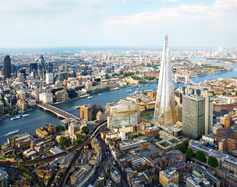 Luxury lover Gina Baksa packs her altimeter for a sky-scraping stay at London's highest five-star hotel, the Shangri-La At The Shard