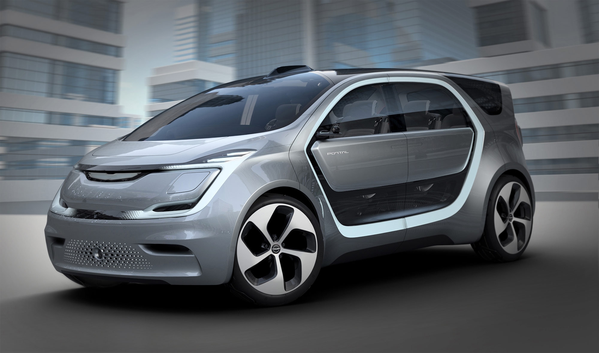 Chrysler's Portal Concept: Semi-Autonomous Driving And 250 Mile Range