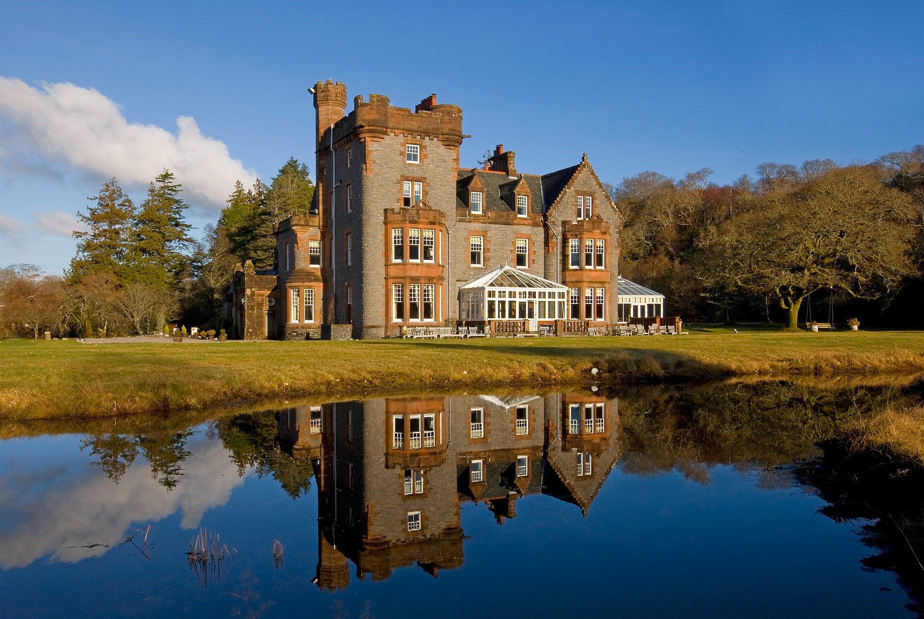 Throughout February, Isle of Eriska Hotel, Spa and Island celebrates the epitome of romance