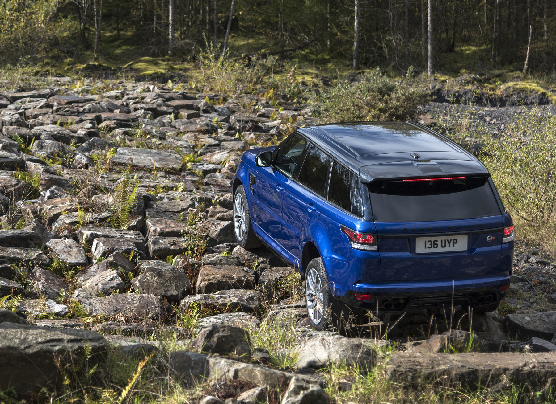 The Range Rover Sport SVR - Land Rover SVO Gets A Grip On Things 7