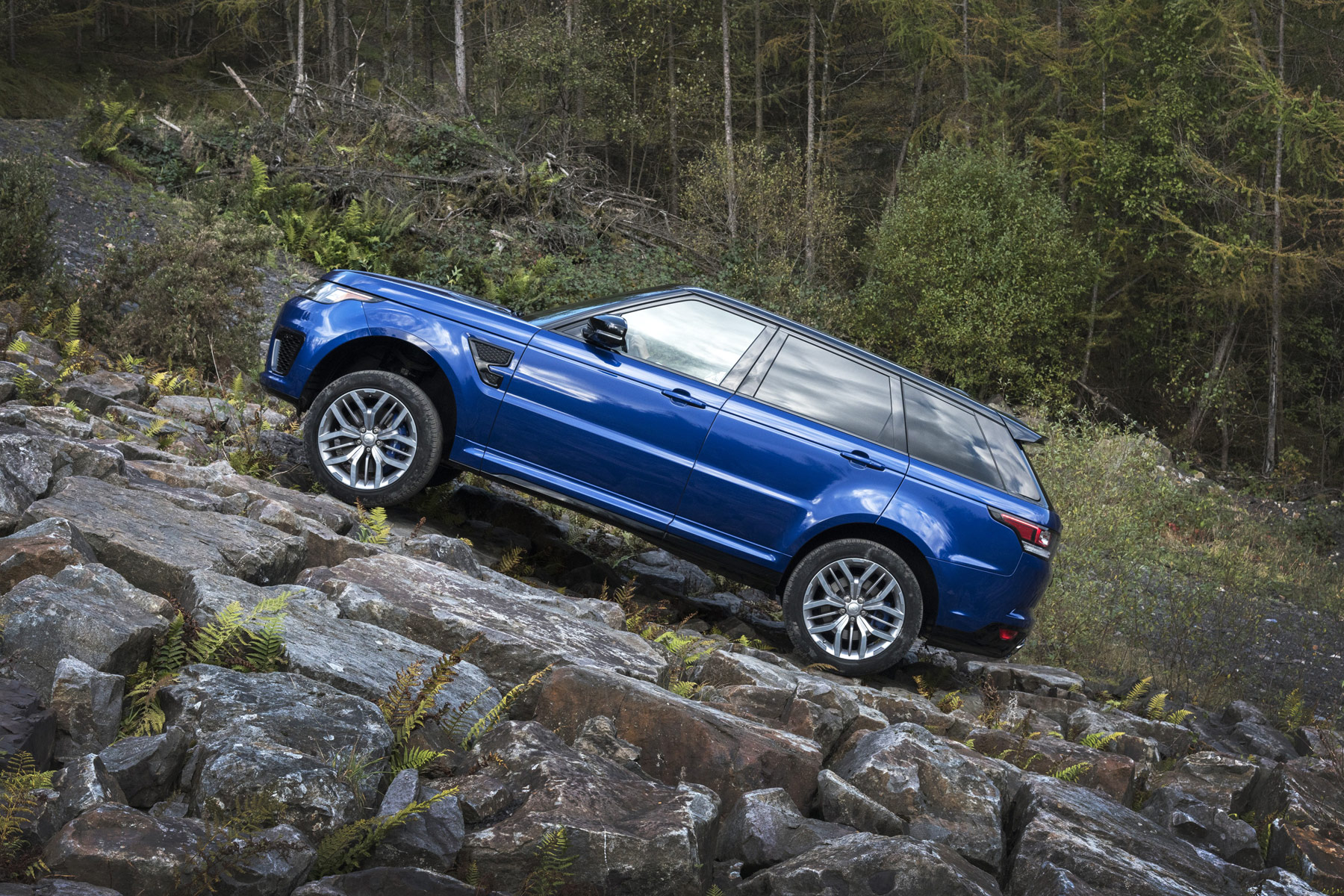 The Range Rover Sport SVR - Land Rover SVO Gets A Grip On Things 8