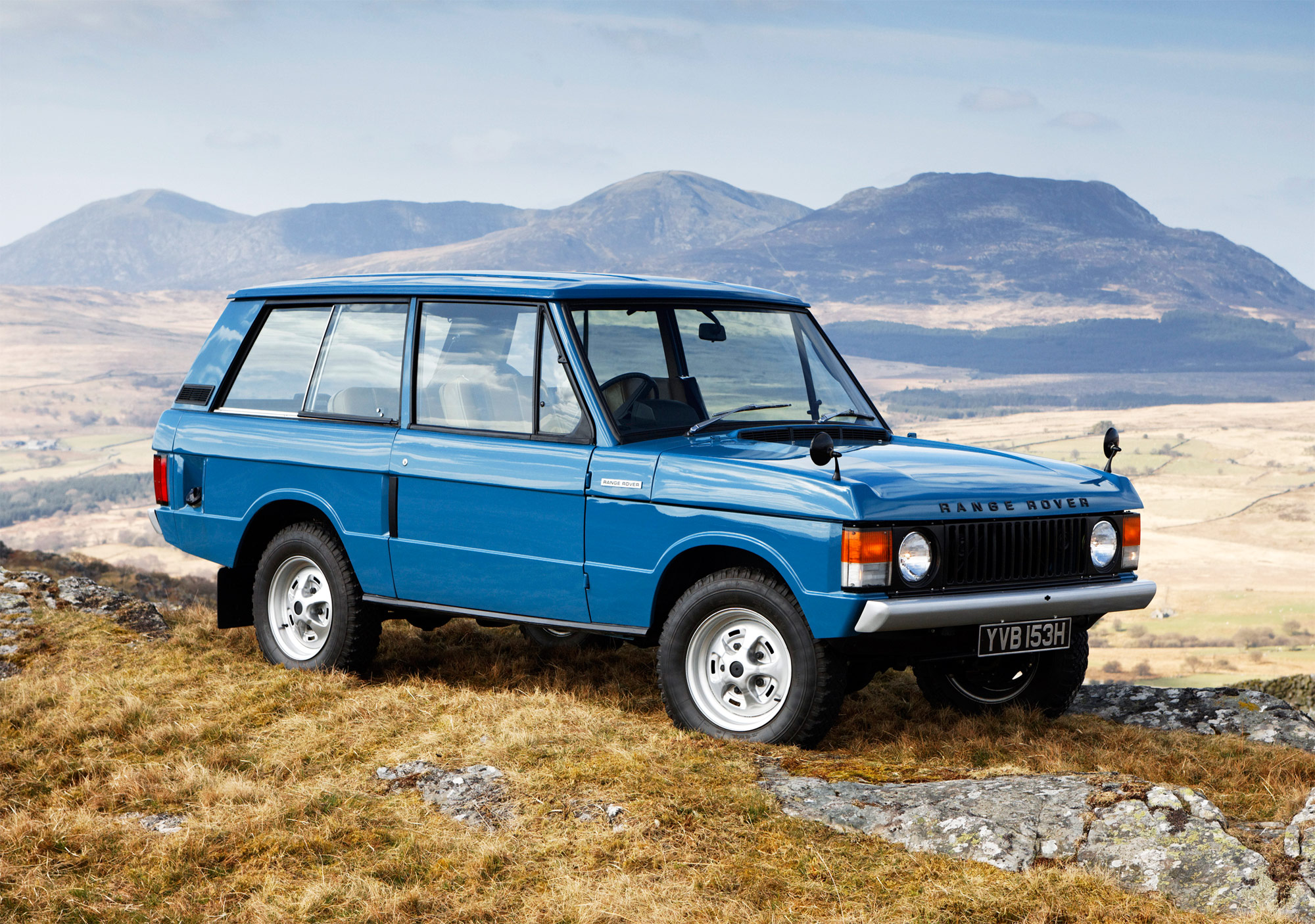 The Various Incarnations Of The Legendary Range Rover