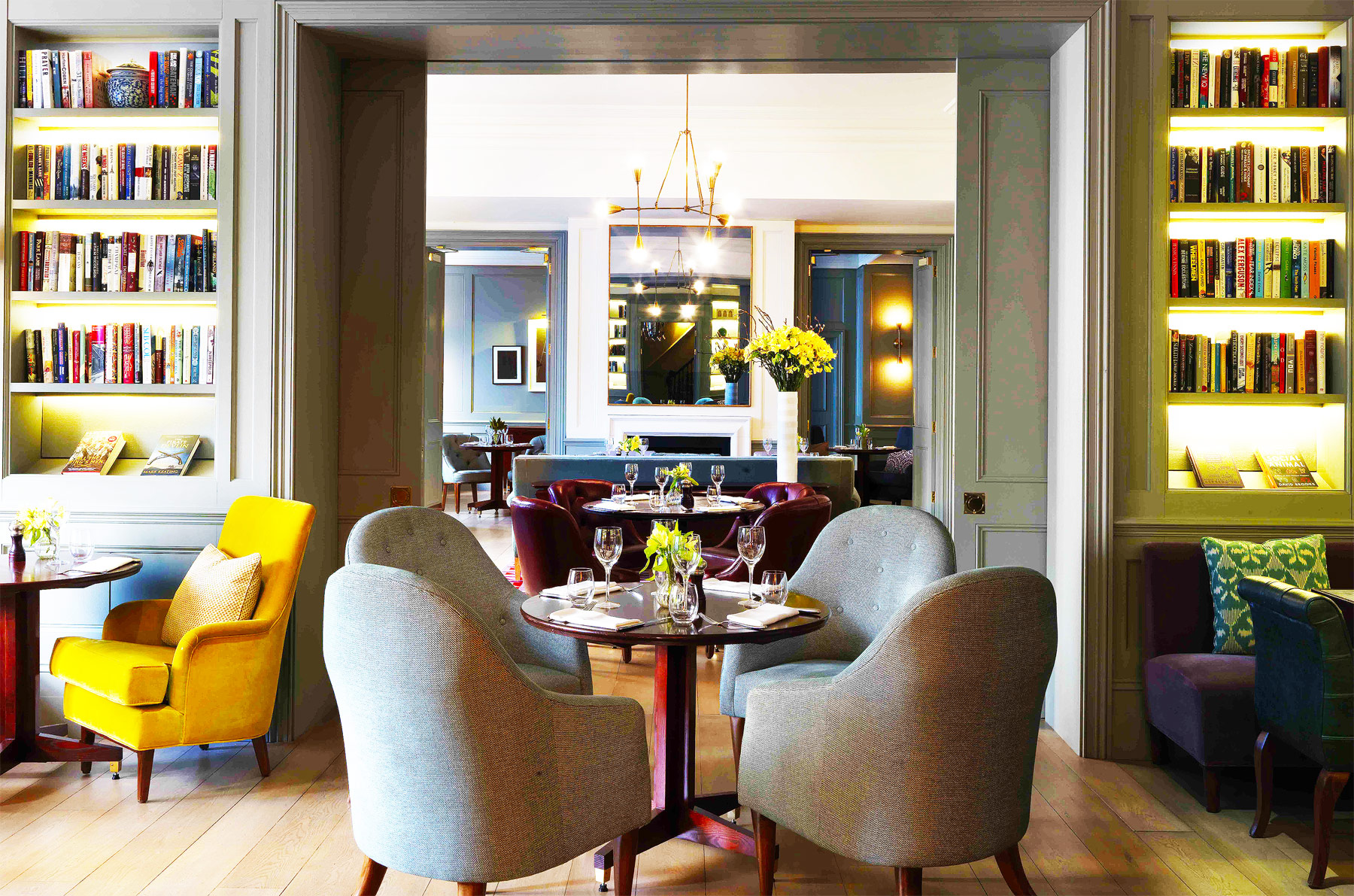 Town House at The Kensington serves up the season's best cuisine in a cosy, yet classical setting. Leanne Kelsall pops in for a quintessentially British dinner...