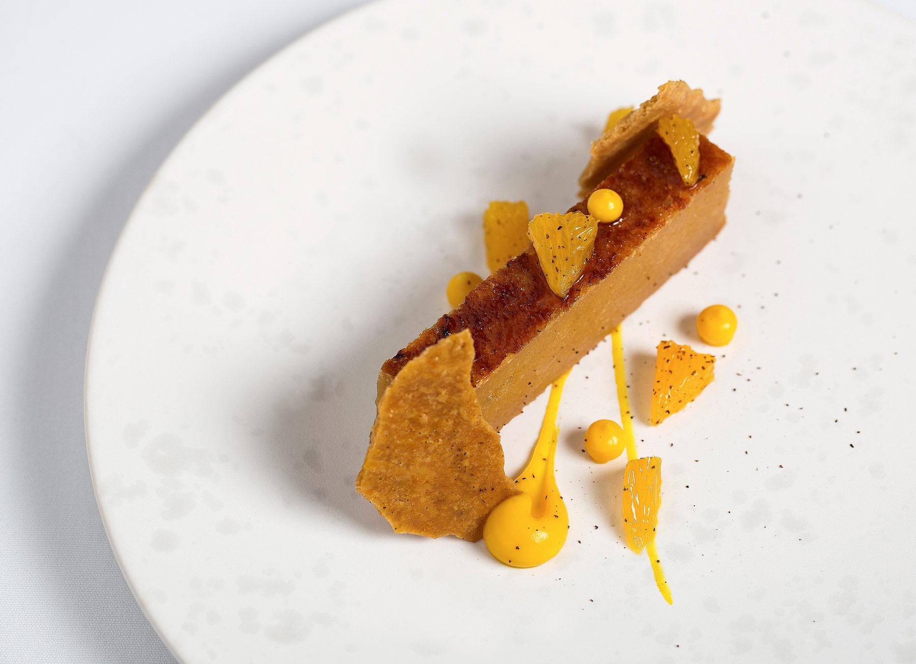 Treacle-tart,orange,mascarpone