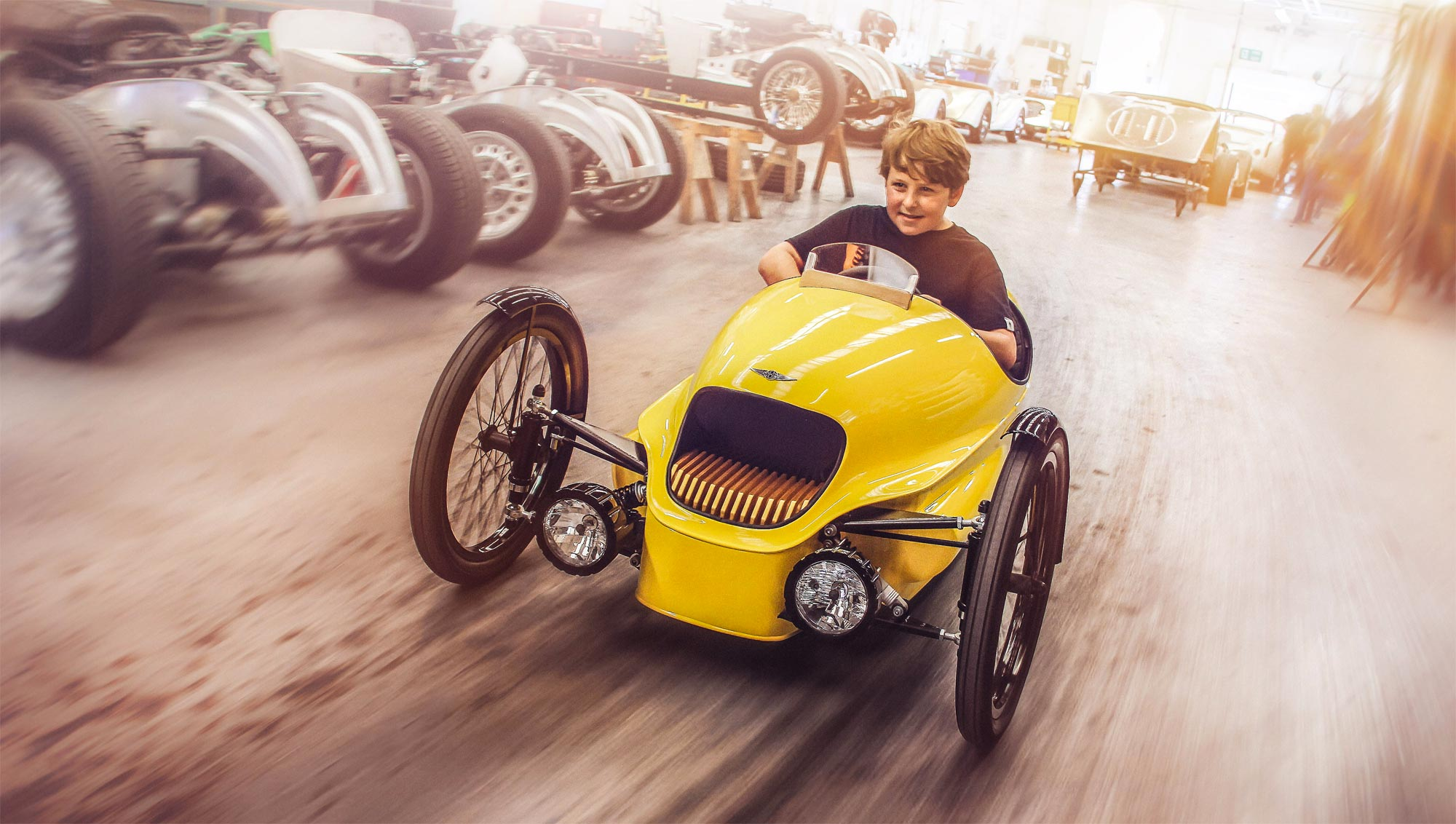 Morgan's EV3 Junior Offers Children The Chance To Experience Automotive Excellence