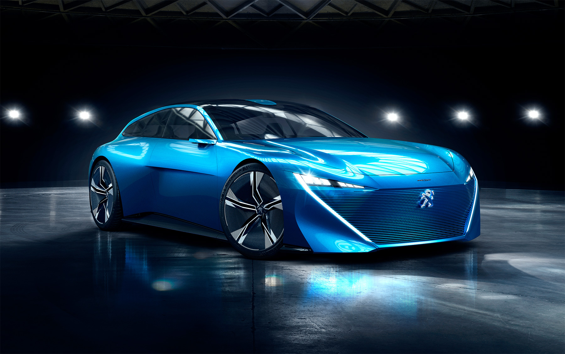 Instinct Concept From Peugeot, A PHEV With 'Autonomous' And 'Drive' Modes