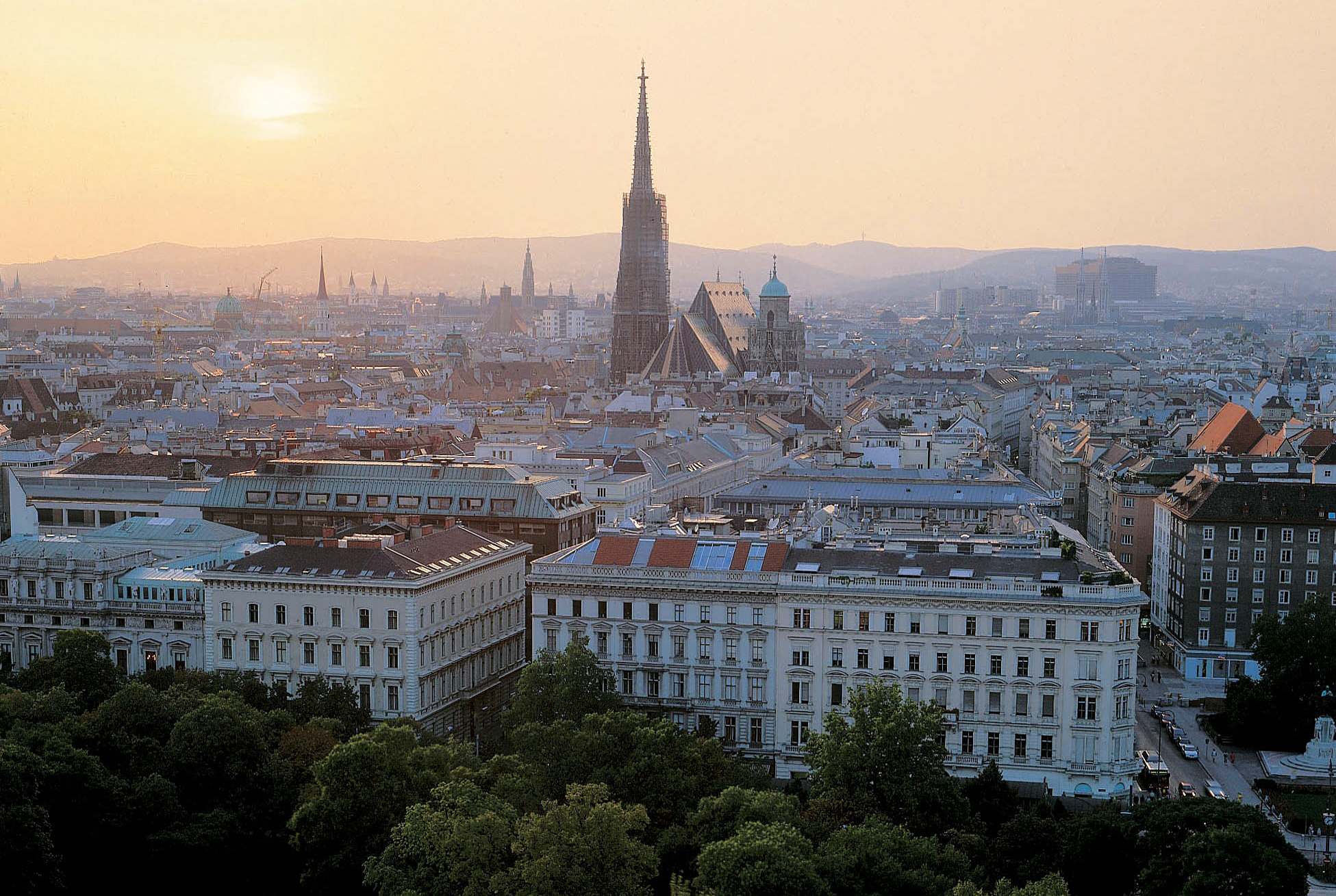View of the City of Vienna
