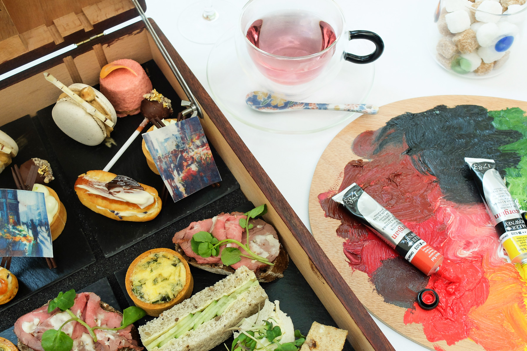The Art Of Afternoon Tea With A Healthy Cocktail At Lancaster London 4