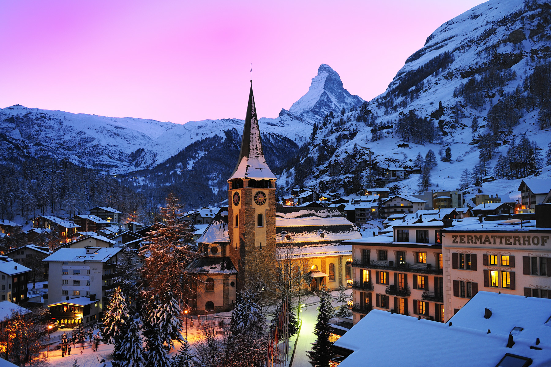 Discovering The Delights Within The Swiss Mountain Resort Of Zermatt