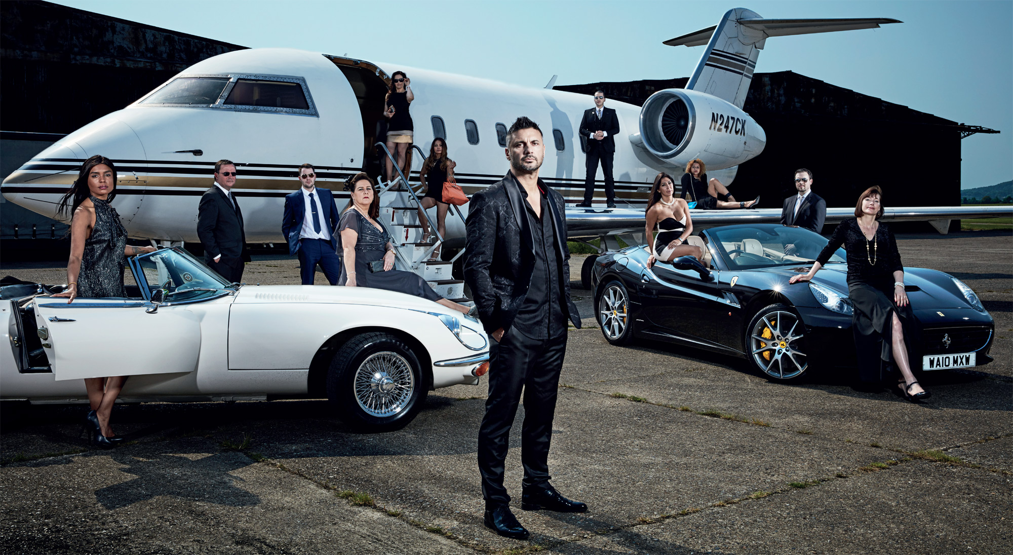 Posh Pawn's James Constantinou, The Man From Uncle