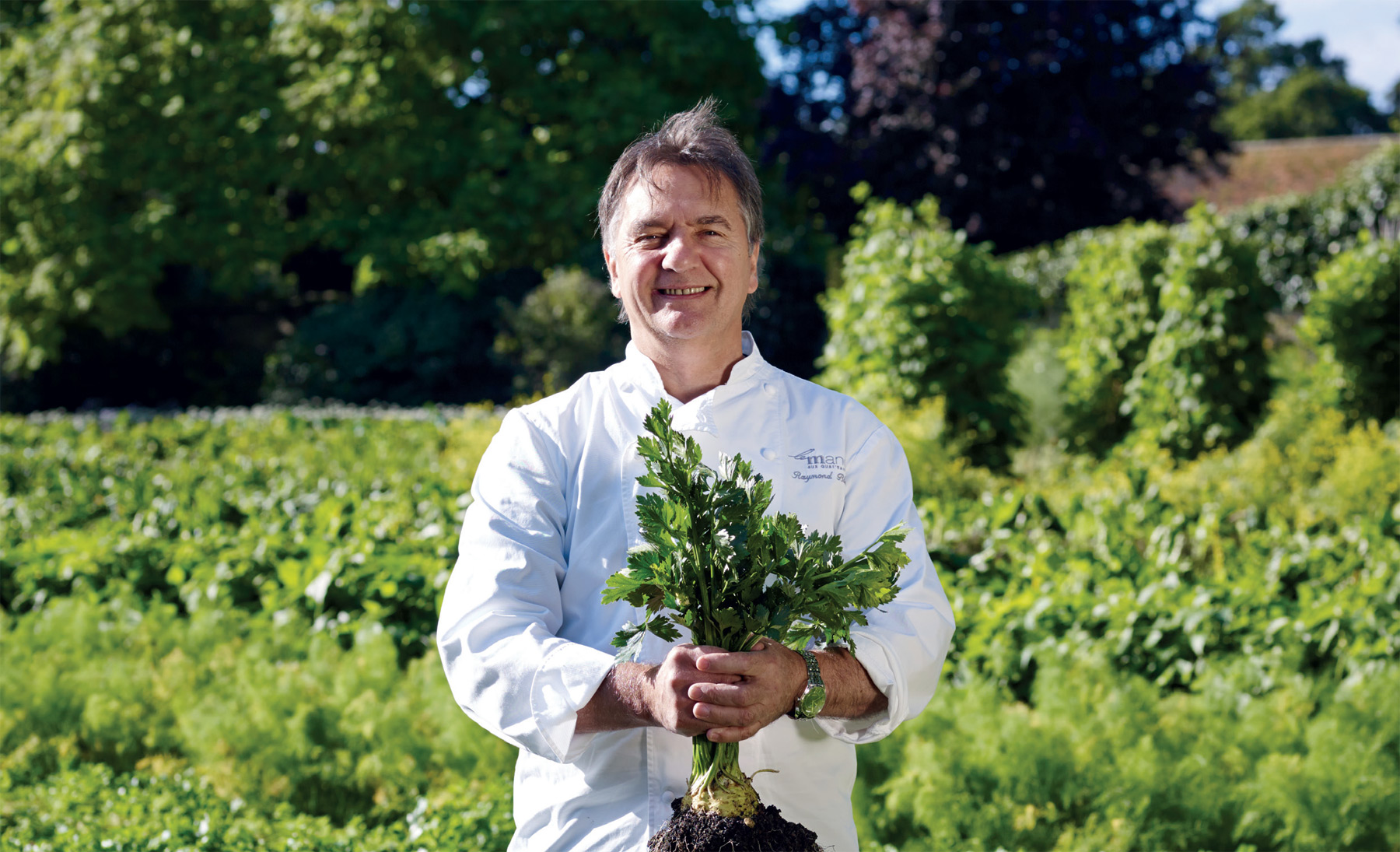 Why Raymond Blanc is Outstanding in his Field