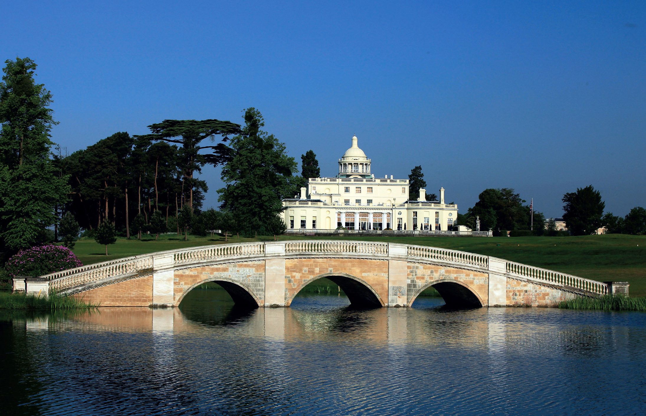 Do you expect me to talk? No, Just Enjoy the Splendour of Stoke Park 3