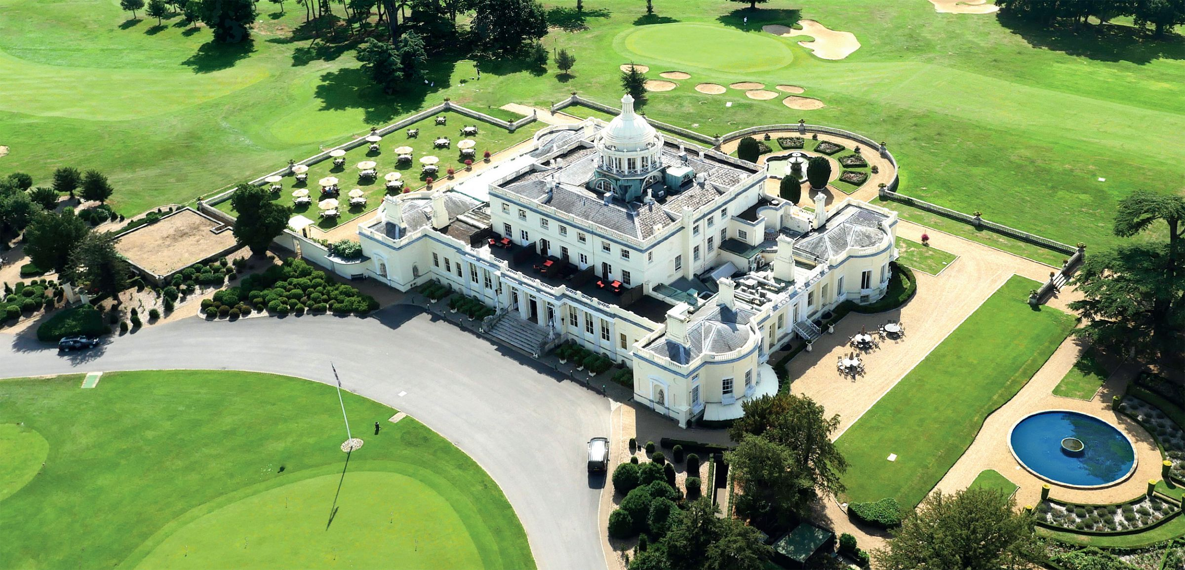 Do you expect me to talk? No, Just Enjoy the Splendour of Stoke Park
