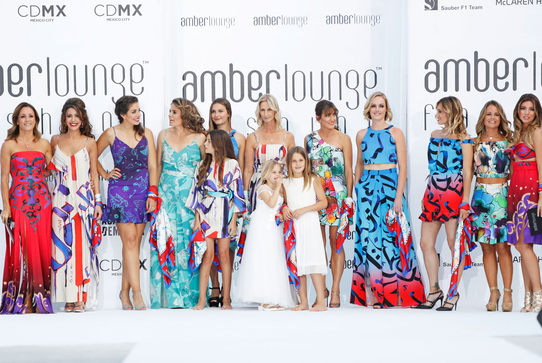 Amber Lounge Fashion's Big Night Out Gets The Monaco Grand Prix Started