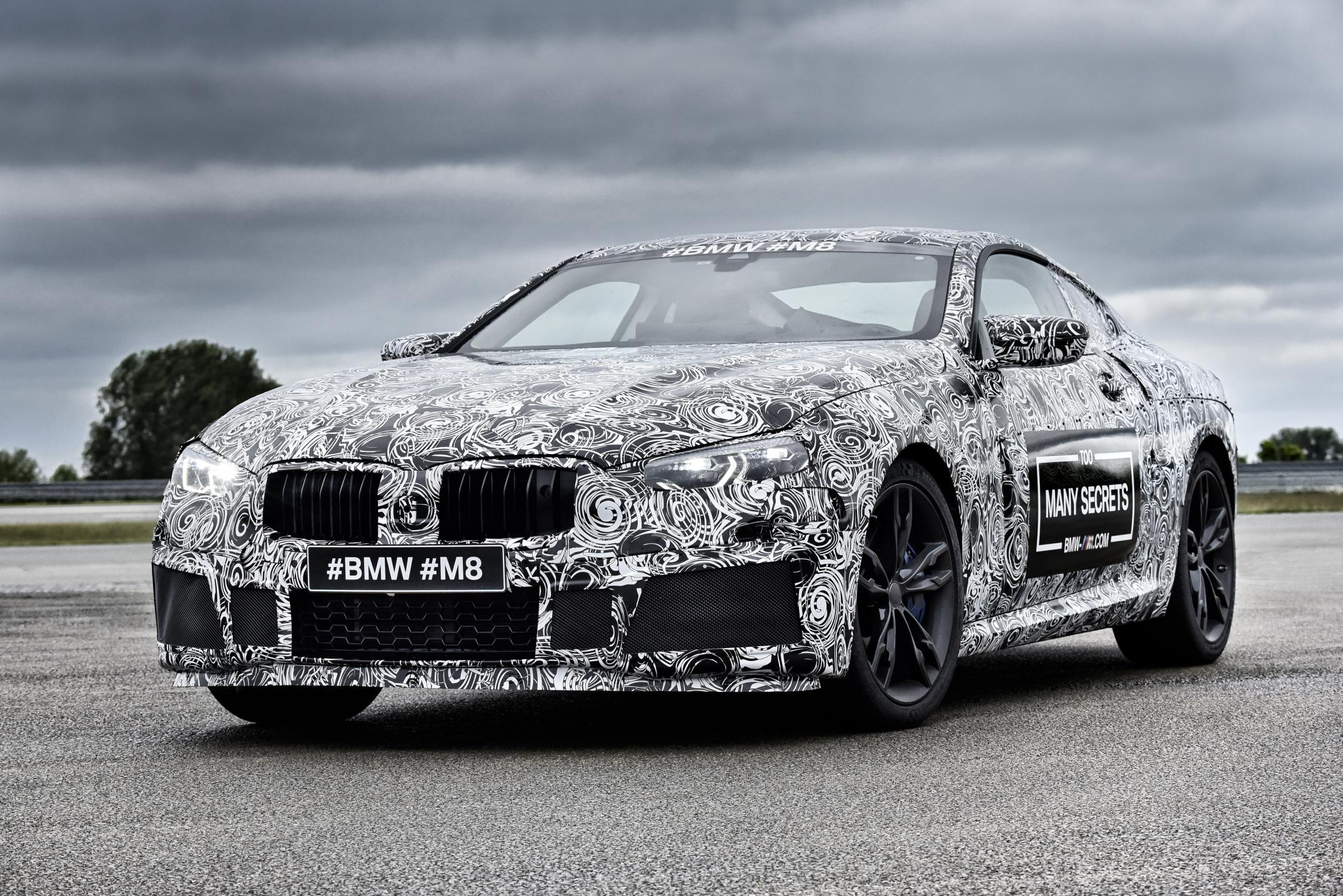 BMW's M8 Prototype – The Shape of Things to Come