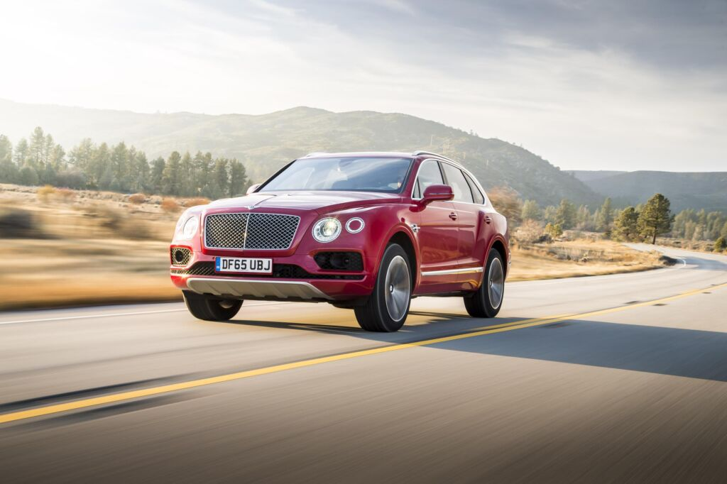 Behind the Wheel of the Bentayga, the World's Most Luxurious SUV 3