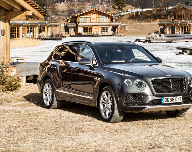 Behind the Wheel of the Bentayga, the World's Most Luxurious SUV