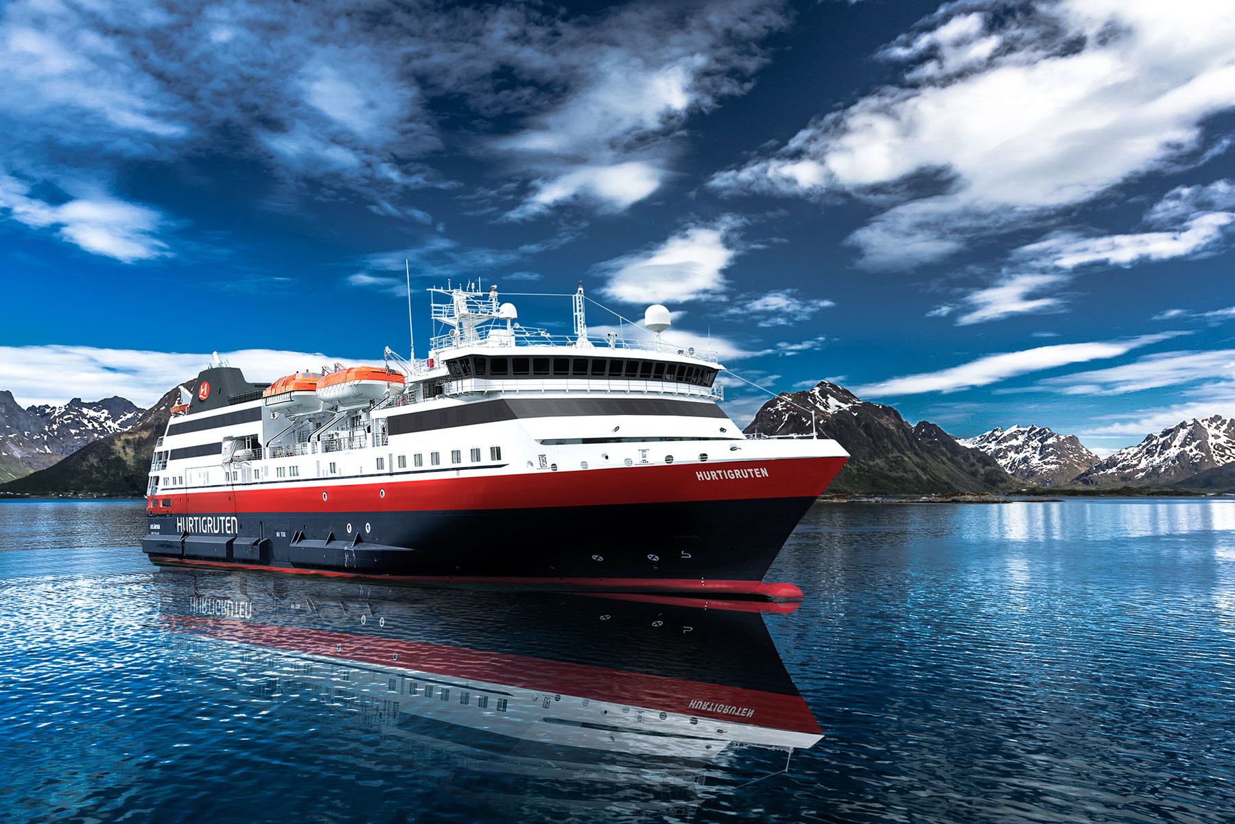 Hurtigruten Launches VR Experience for Agents and Guests