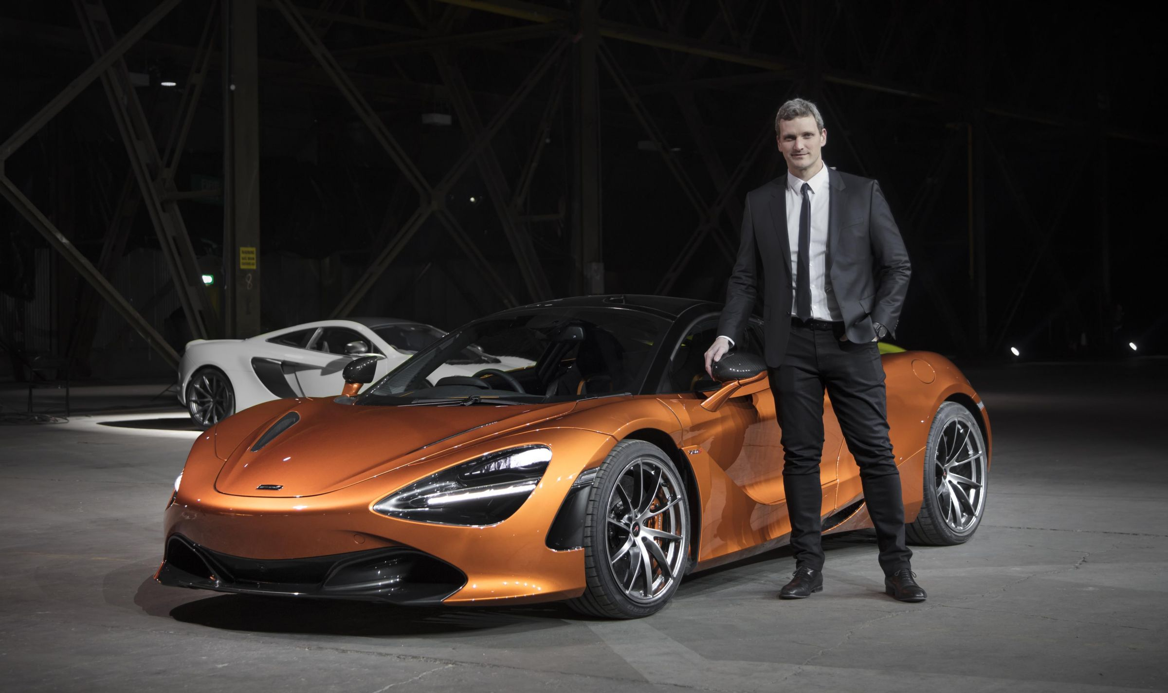 Rob Melville Becomes the new Design Director at McLaren Automotive