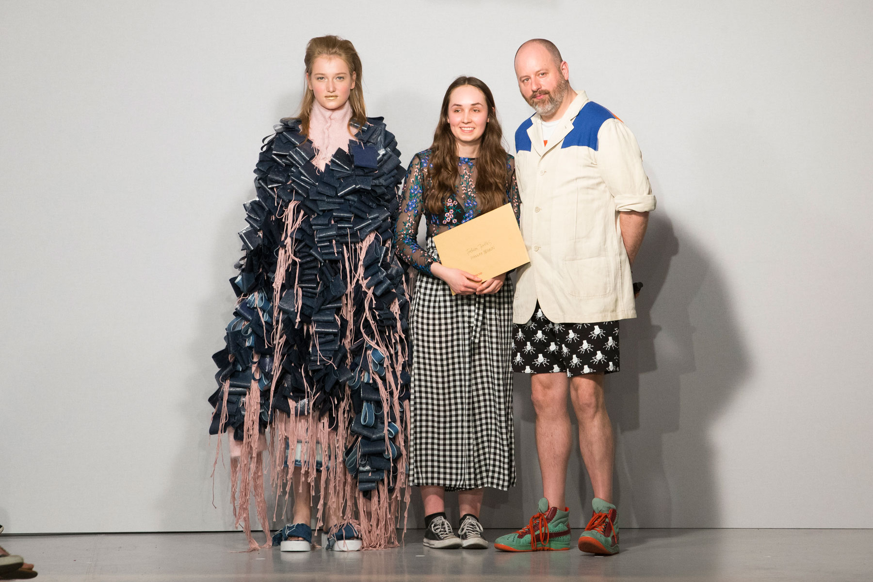 Overview of the Winchester School of Art BA Fashion Show