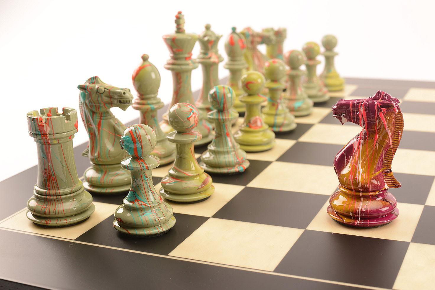 Purling London Art Chess by Darren MacPherson