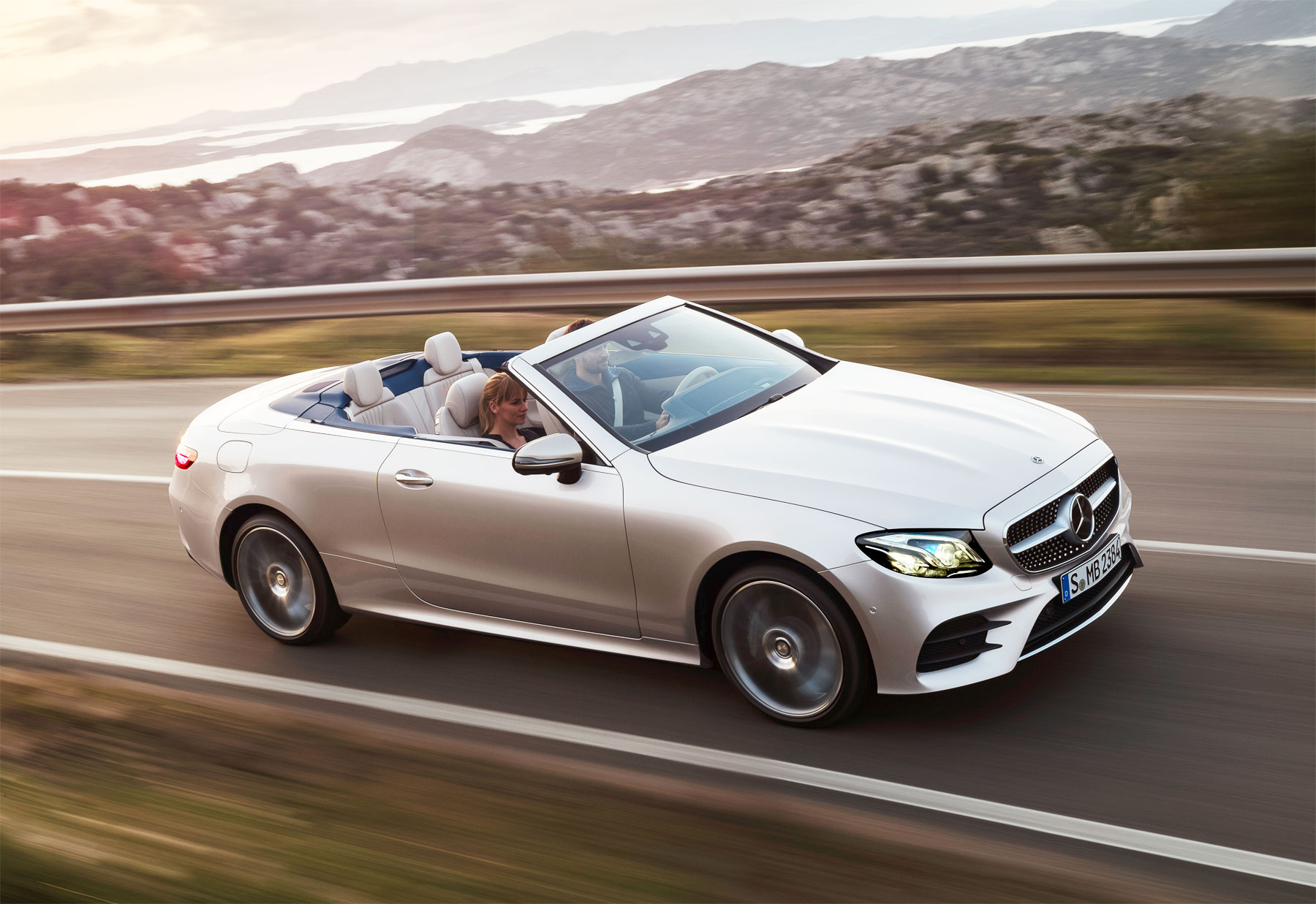 New Mercedes-Benz E-Class Cabriolet and E-Class All-Terrain