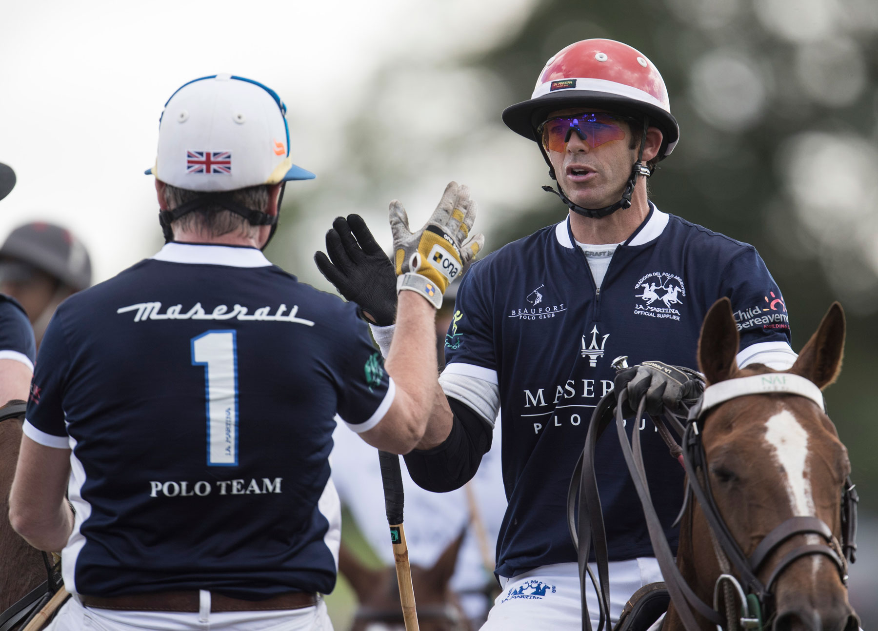 Dhamani 1969 Wins the UK round of Maserati's International Polo Tour