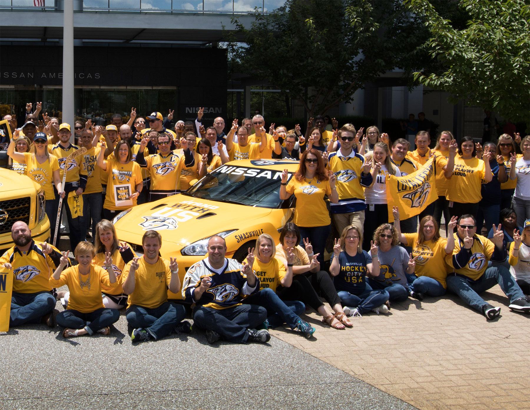 Nissan's 'PREDZILLA' is Donated to the Nashville Predators Foundation