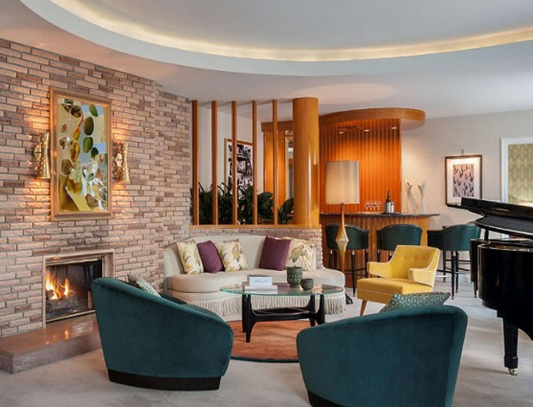 Paul Williams Suite at The Beverly Hills Hotel