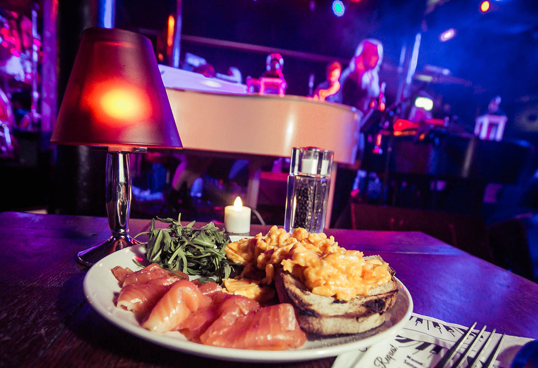 Get the party started early with Saturday Brunch at the Piano Works