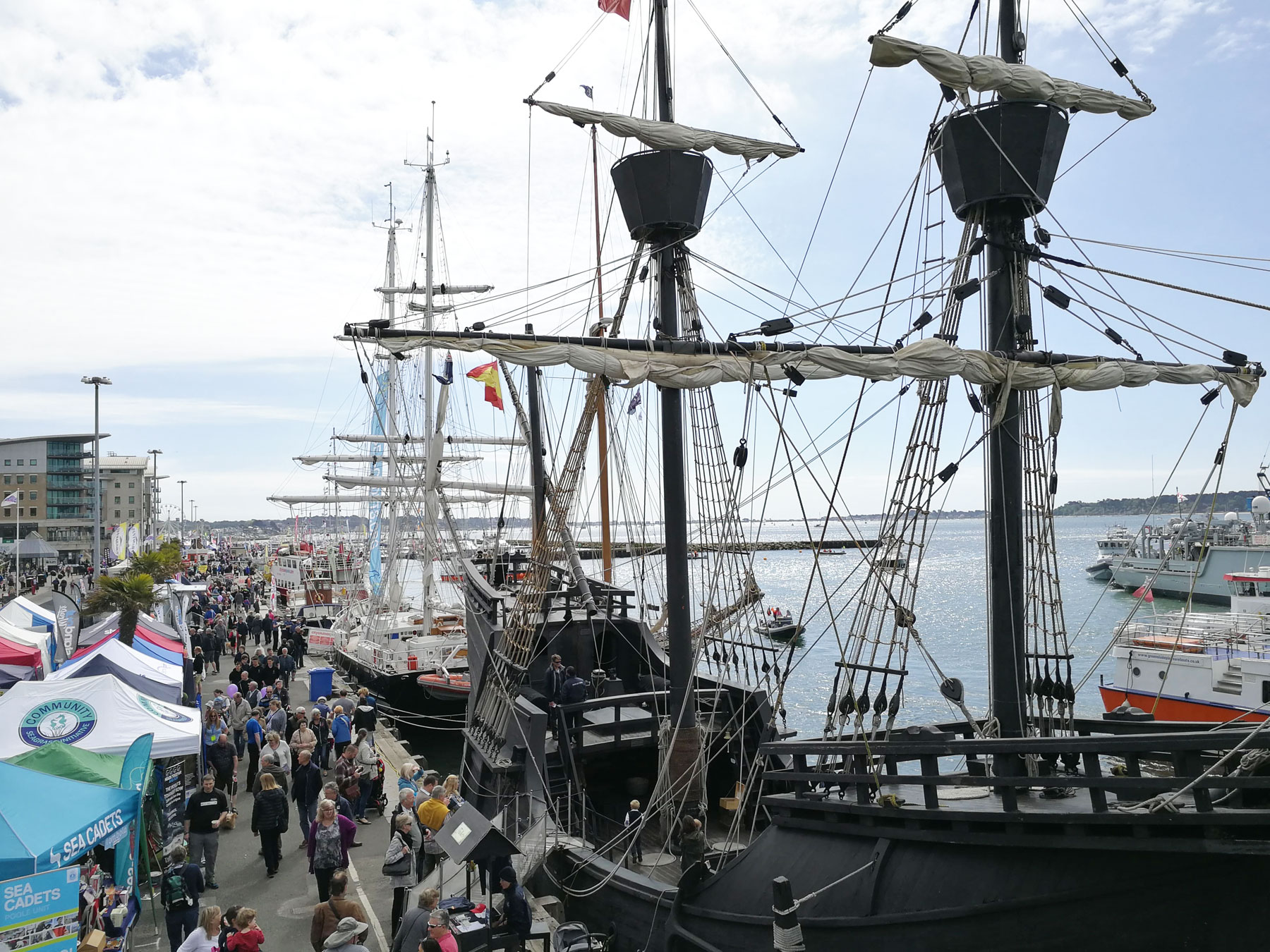 The Poole Harbour Boat Show Sees 30% Increase in Visitors