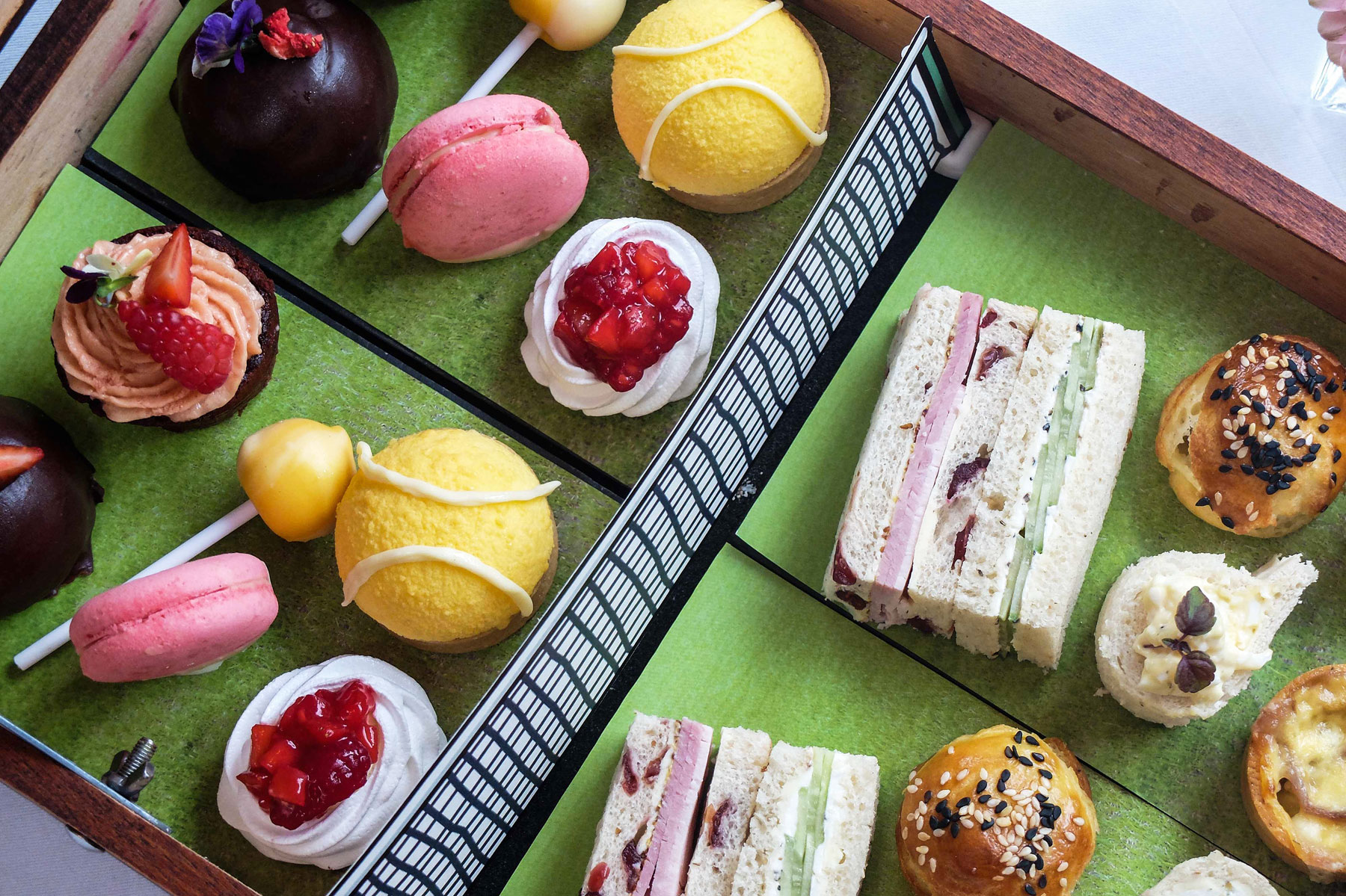 Lancaster London 'Serve' Up Wimbledon ARTea Afternoon Tea