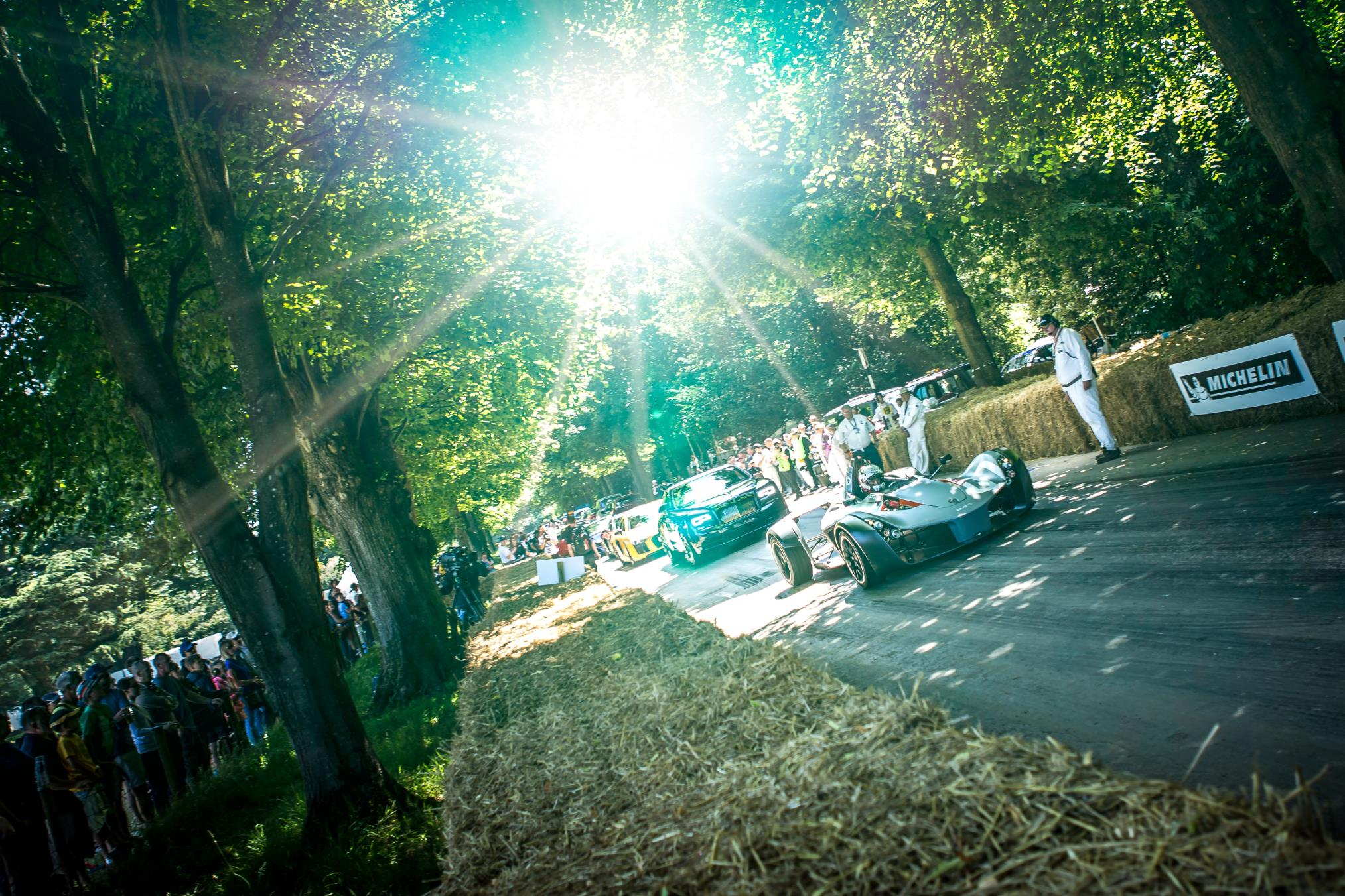BAC Dominates Class in Goodwood Festival of Speed Hillclimb