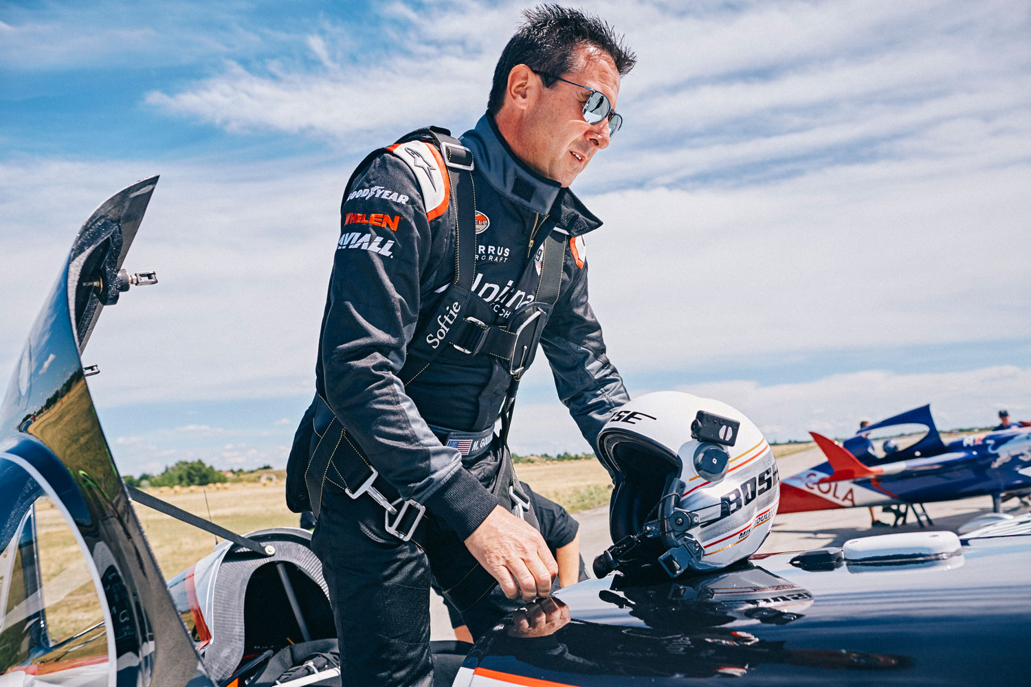 Michael Goulian to Make Russian Debut Alongside Team Partner Alpina 3