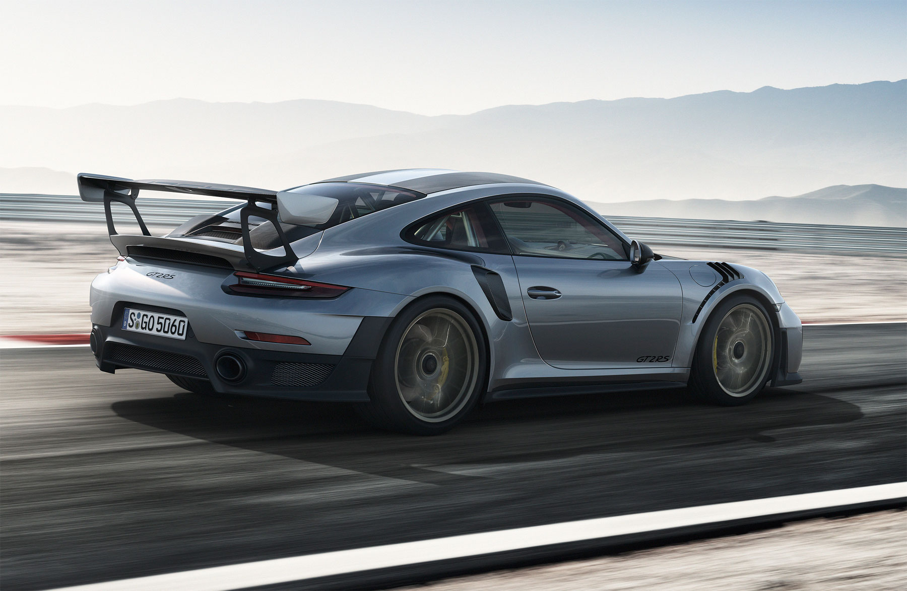 Inside the Porsche 911 GT2 RS, the Most Powerful 911 To Date 5