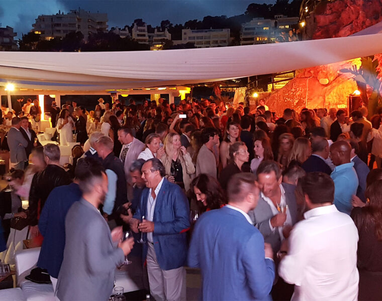 A Plush and Sophisticated Grand Opening at Purobeach Illetas In Mallorca 45