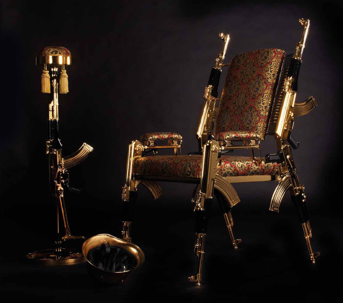 Gold AK-47 Chair Offers More Bang for Your Buck 6