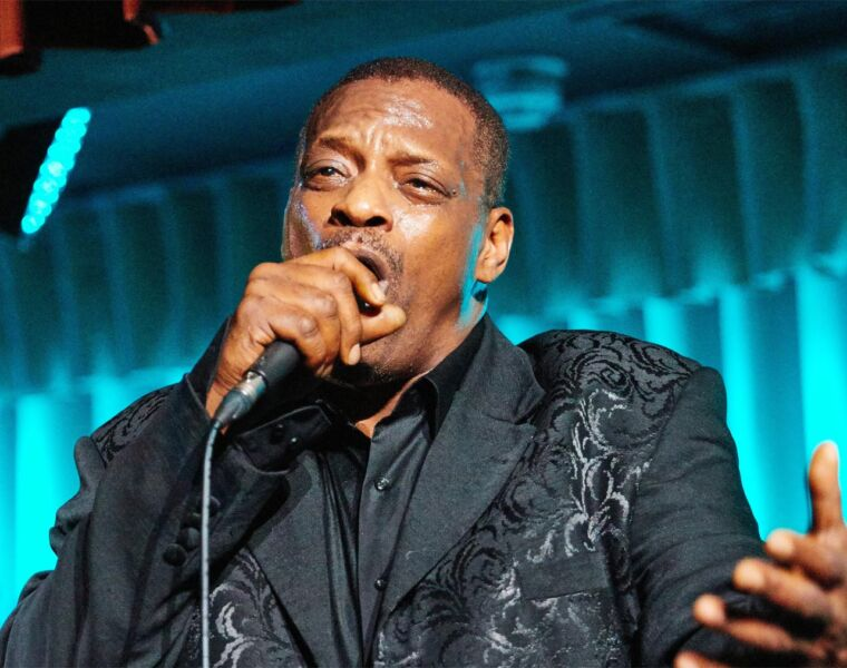 A Musical Masterclass by Alexander O'Neal at Quaglino's 36