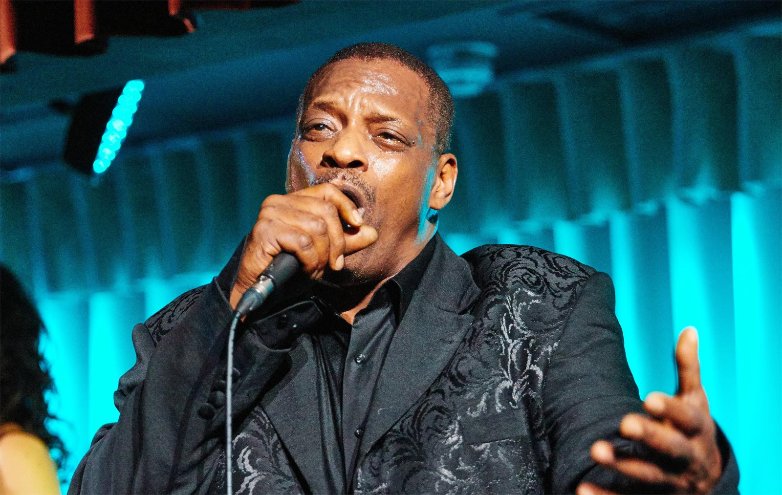 A Musical Masterclass by Alexander O'Neal at Quaglino's 10