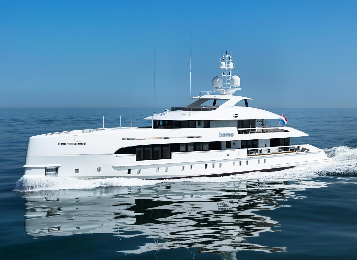 Heesen Launches World's First Fast Displacement Hybrid Propulsion Yacht 4